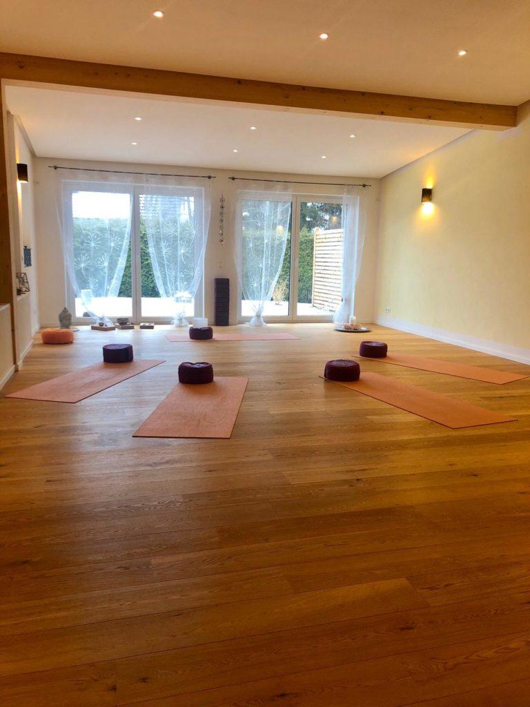 Yoga Raum in Fichtelberg Anja Burger